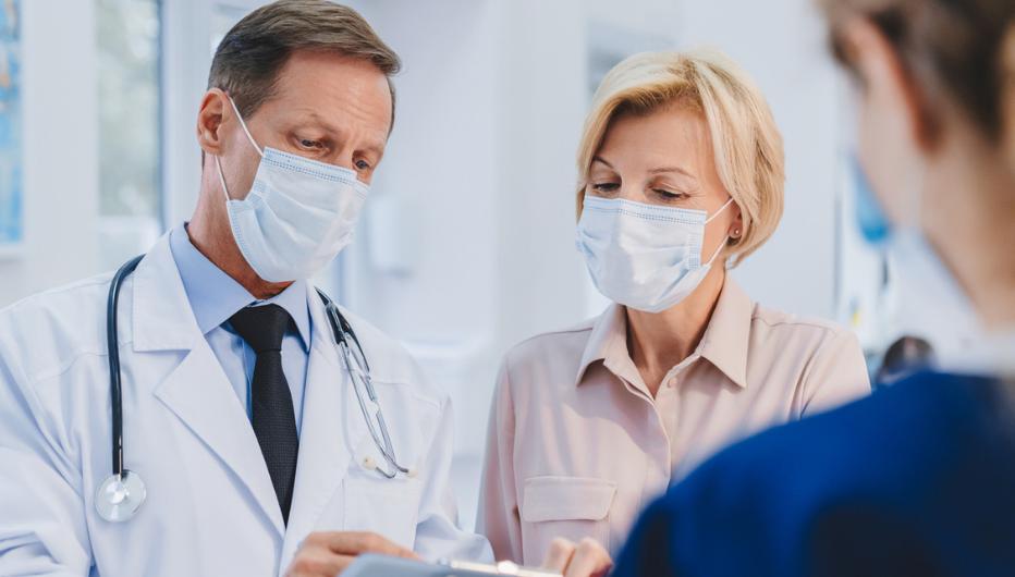 Doctors in Masks